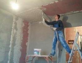 Выравнивание потолка механизированным способом: практичный метод отделки